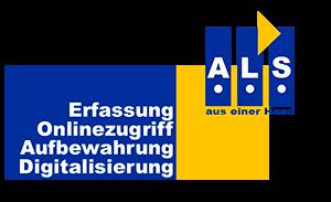 Digitalisierung von Akten bei ALS
